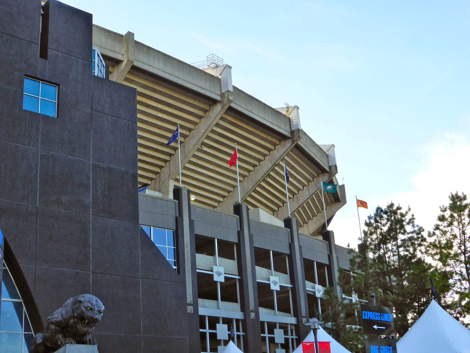 Sports Road Trips: New England Patriots 20 at Carolina