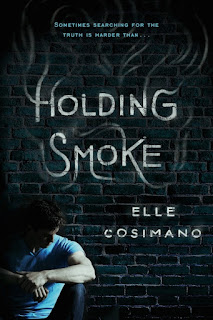 Holding Smoke by Elle Cosimano book cover