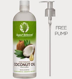 Bayleaf Botanicals Fractionated Coconut Oil (Liquid)