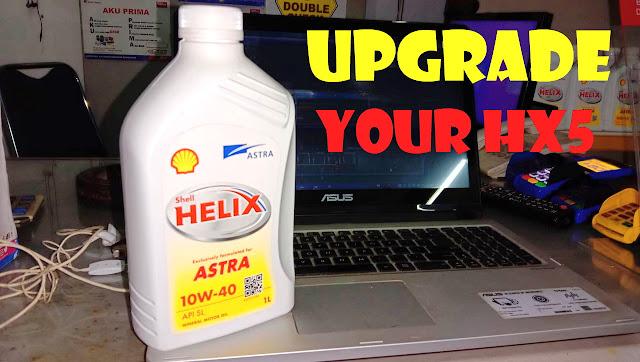Shell Astra 10w40 Versi Upgrade Dari Shell HX5