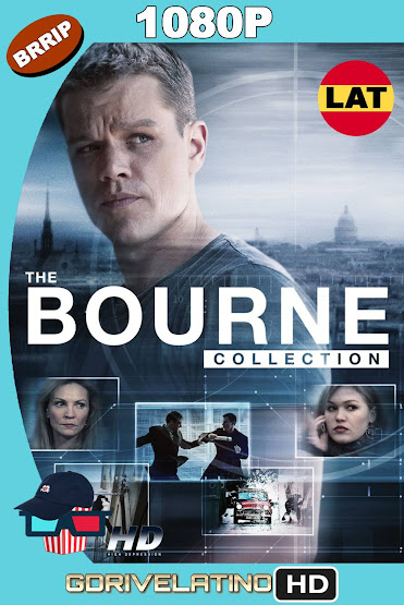 Bourne (2002-2016) Colección BRRip 1080p Latino-Ingles MKV