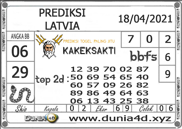 Prediksi Togel LATVIA DUNIA4D 17 APRIL 2021