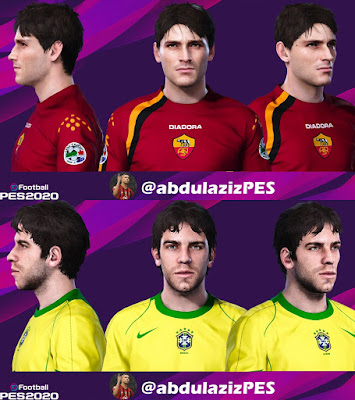 PES 2020 Classic Facepack Juninho & Montella by Abdulaziz