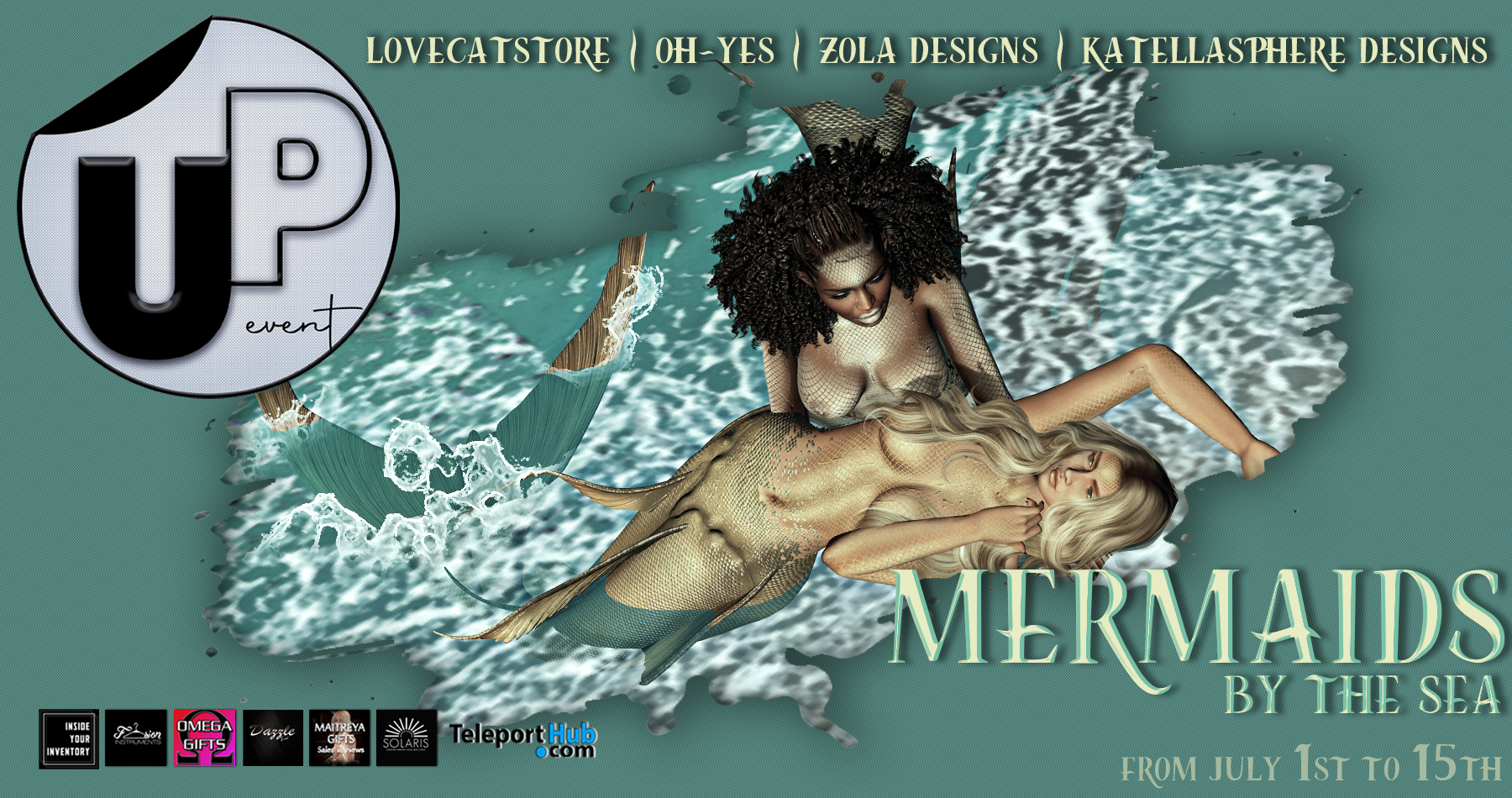 GALLERY UP! MERMAIDS BY THE SEA