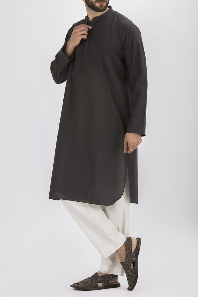 Almairah charcoal kurta Eid collection