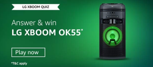 Amazon-LG-XBOOM-quiz