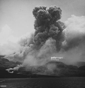 Gunung Api Pelee di Martinique