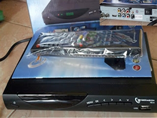 Set Top Box atau DECODER tv digital