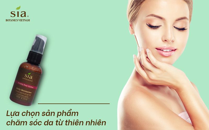 Cách chăm sóc da thường là sử dụng các sản phẩm có nguồn gốc từ thiên nhiên