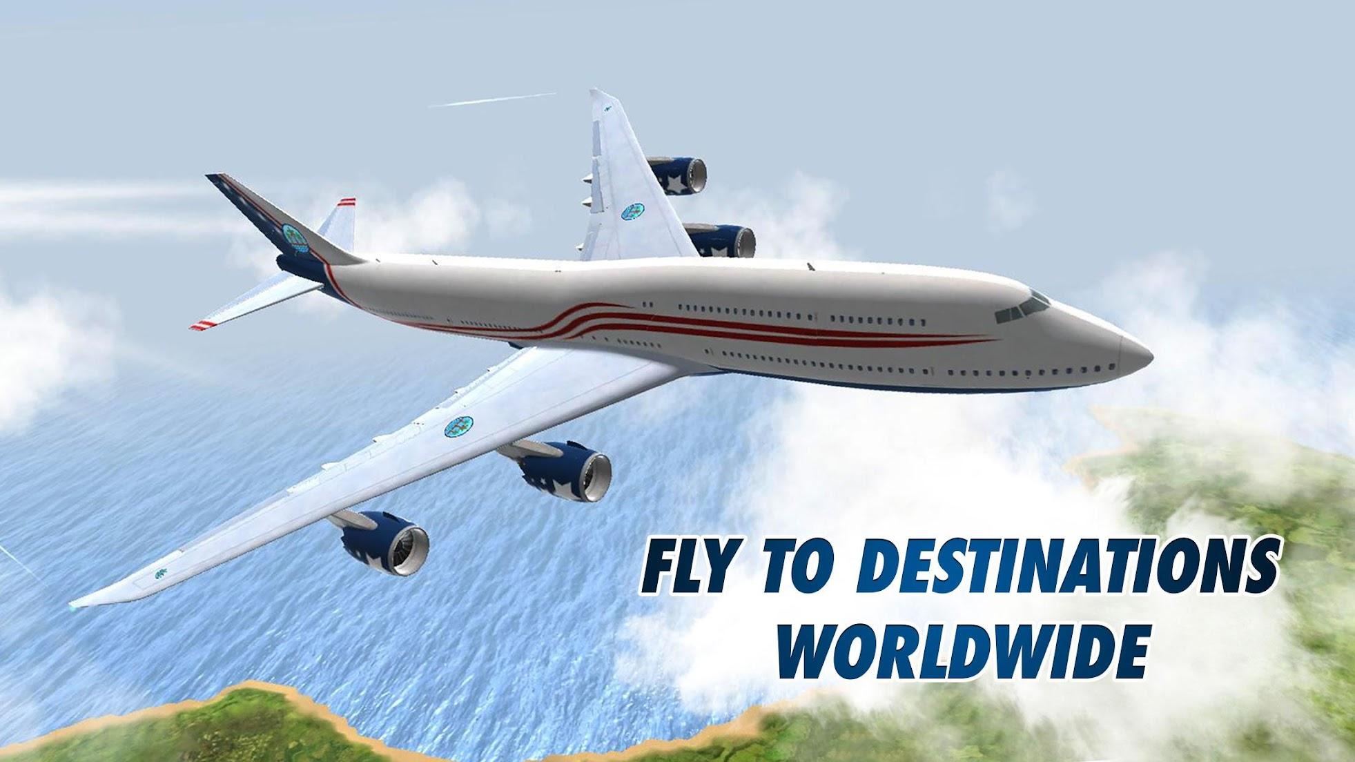 Game Pesawat Terbaik di Android Take Off Flight Simulator