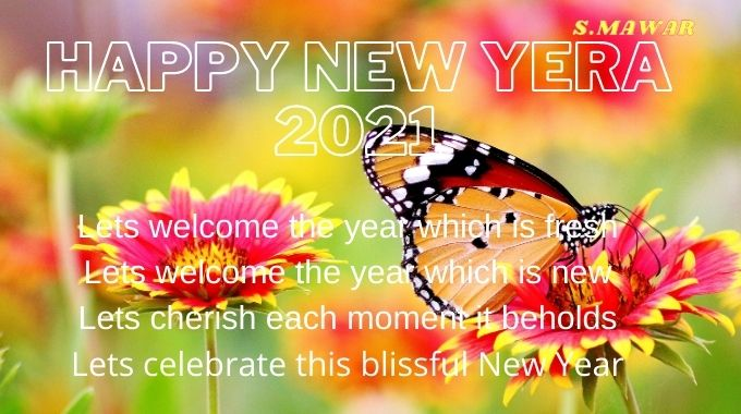 Happy New Year Quotes With Image In English Happy New Year Status Quotes For 2021