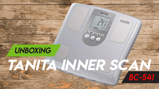 Unboxing Tanita Inner Scan Body Composition Monitor Tipe BC 541