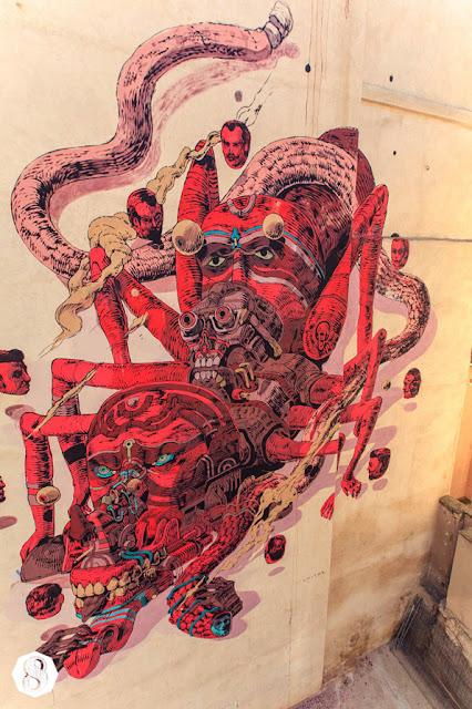 Street Art By Mexican Artist Smithe In Spain For Asalto Urban Art Festival 2013. 3