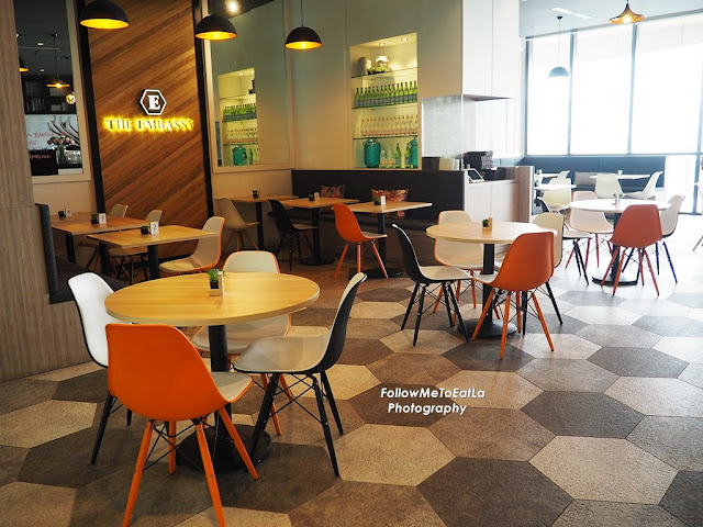 The Embassy Café  At The Starling Mall Damansara Uptown