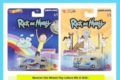 Bocoran Hot Wheels Pop Culture Mix C 2020 : Rick And Morty
