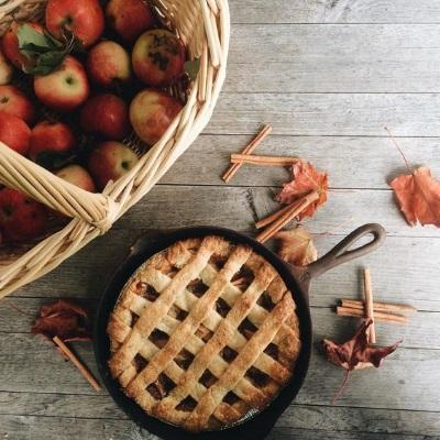 L'automne, tarte aux pommes