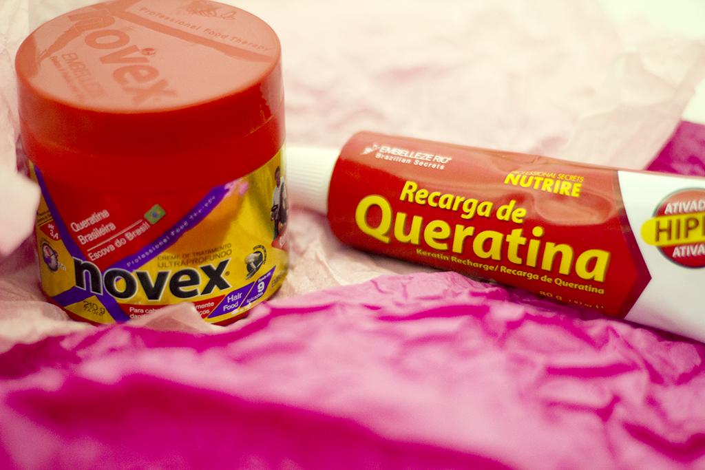 NOVEX: queratina brasileira em acção!