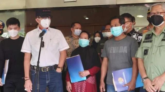 Yasonna Tepis Rumor Kebakaran Lapas Tangerang Dipicu Kerusuhan Napi