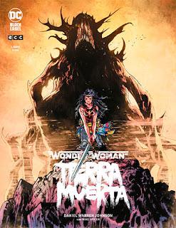Portada de Wonder Woman: Tierra Muerta Vol.1, de Daniel Warren Johnson