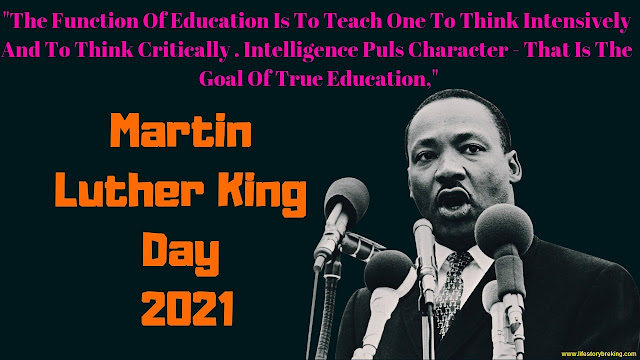 Martin Luther King Day in 2021