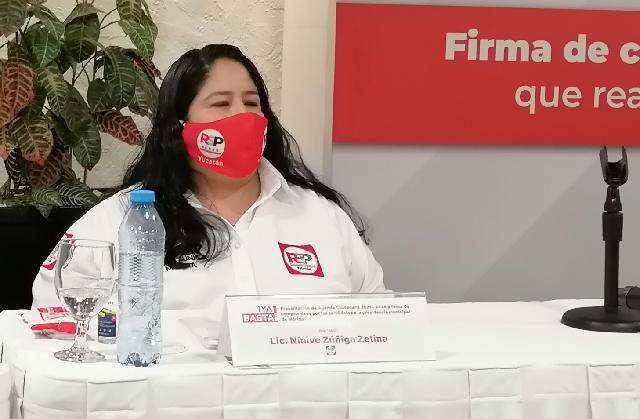 Vamos por la rendición de cuentas, vamos por el Instituto Municipal de la Función Pública: Ninive Zúñiga