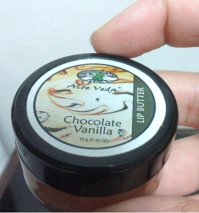 Aloe Veda Chocolate Vanilla Lip Butter Review