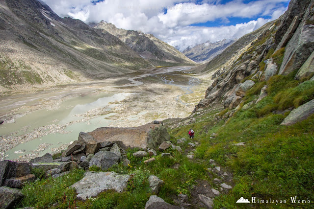 Mantalali lake to pin parvati pass base camp