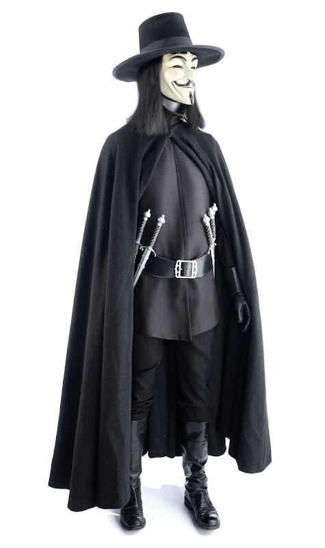 V for Vendetta film costume