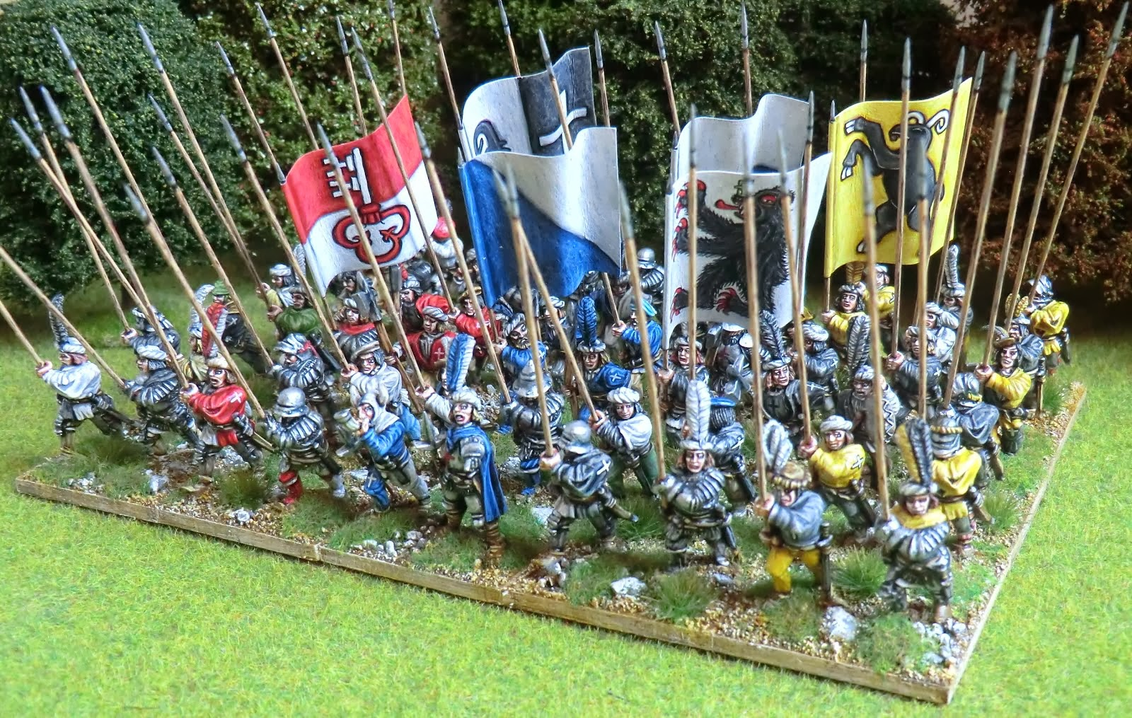 Old Glory miniatures Swiss