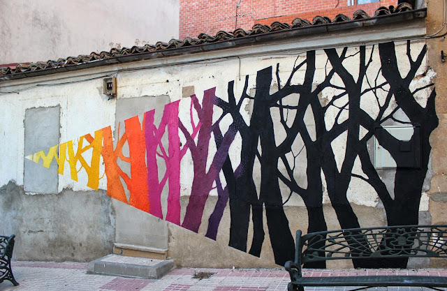 Street Art By Pablo S. Herrero and E1000 In The Pizarrales District Of Salamanca, Spain. 2