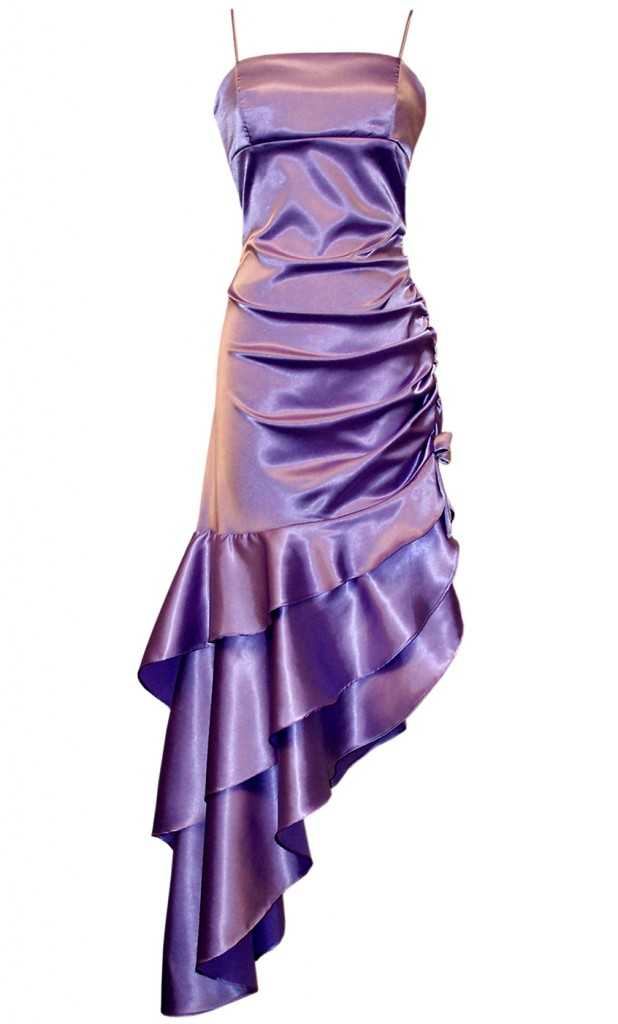 WEDDING SHOES | WEDDING SHOES: Purple Satin Bridesmaid Dresses