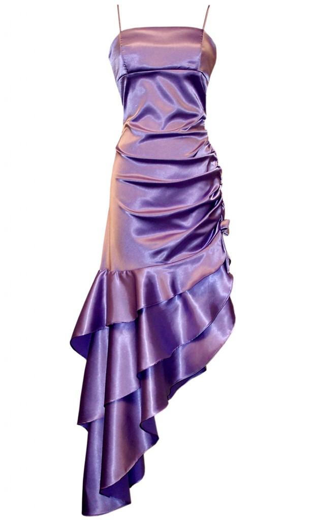 WEDDING SHOES | WEDDING SHOES: Purple Satin Bridesmaid Dresses