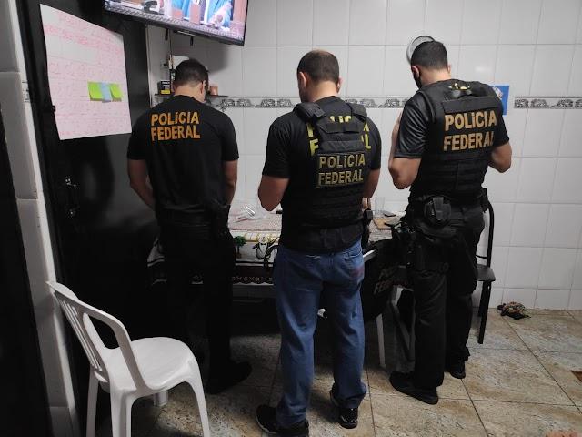 Polícia Federal cumpre mandado em Hidrolândia por fraudes em cartões de crédito