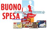 Logo ''Fai la spesa e viaggia con Findus'': vinci subito 150 buoni da 50€ e 1 buono viaggio da 2.500€