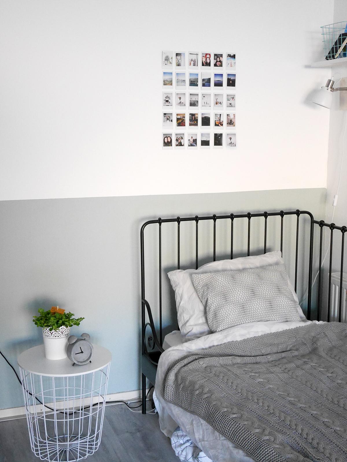 flexa early dew kopen : Mini Room Makeover Een Nieuwe Kleur Op De Muur The Budget Life