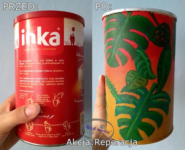 Akcja Reperacja u Adzika - recykling puszki