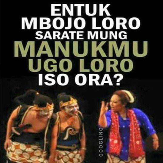 Gambar DP BBM Lucu Bahasa Jawa  mas imam raditya