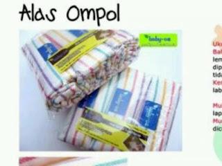 Alas Ompol Baby oz di dalam kemasan