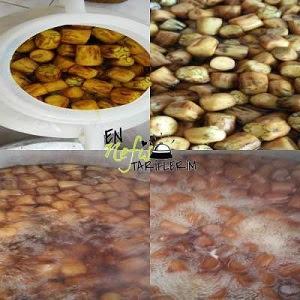 Kireçte Patlıcan Reçeli Nasıl Yapılır