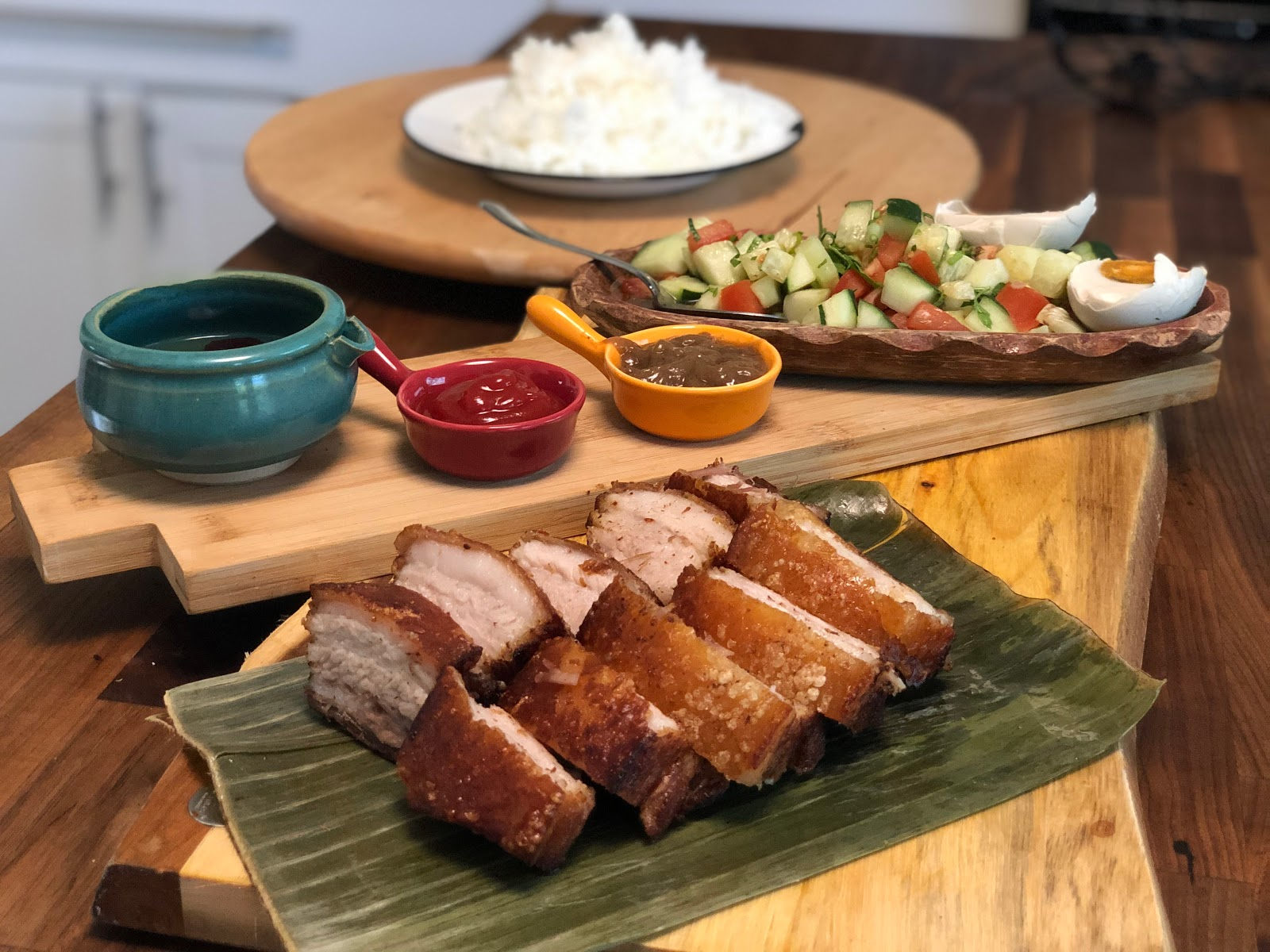 Skip To Malou Crispy And Moist Lechon Kawali Without Frying 3 Step 3 Ingredient Crispy Pork Belly