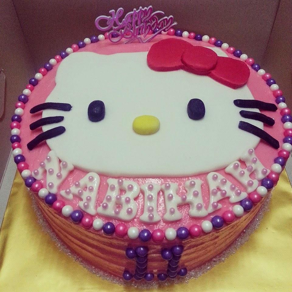 Zalinzalina Blogspot Com Kek Hello Kitty