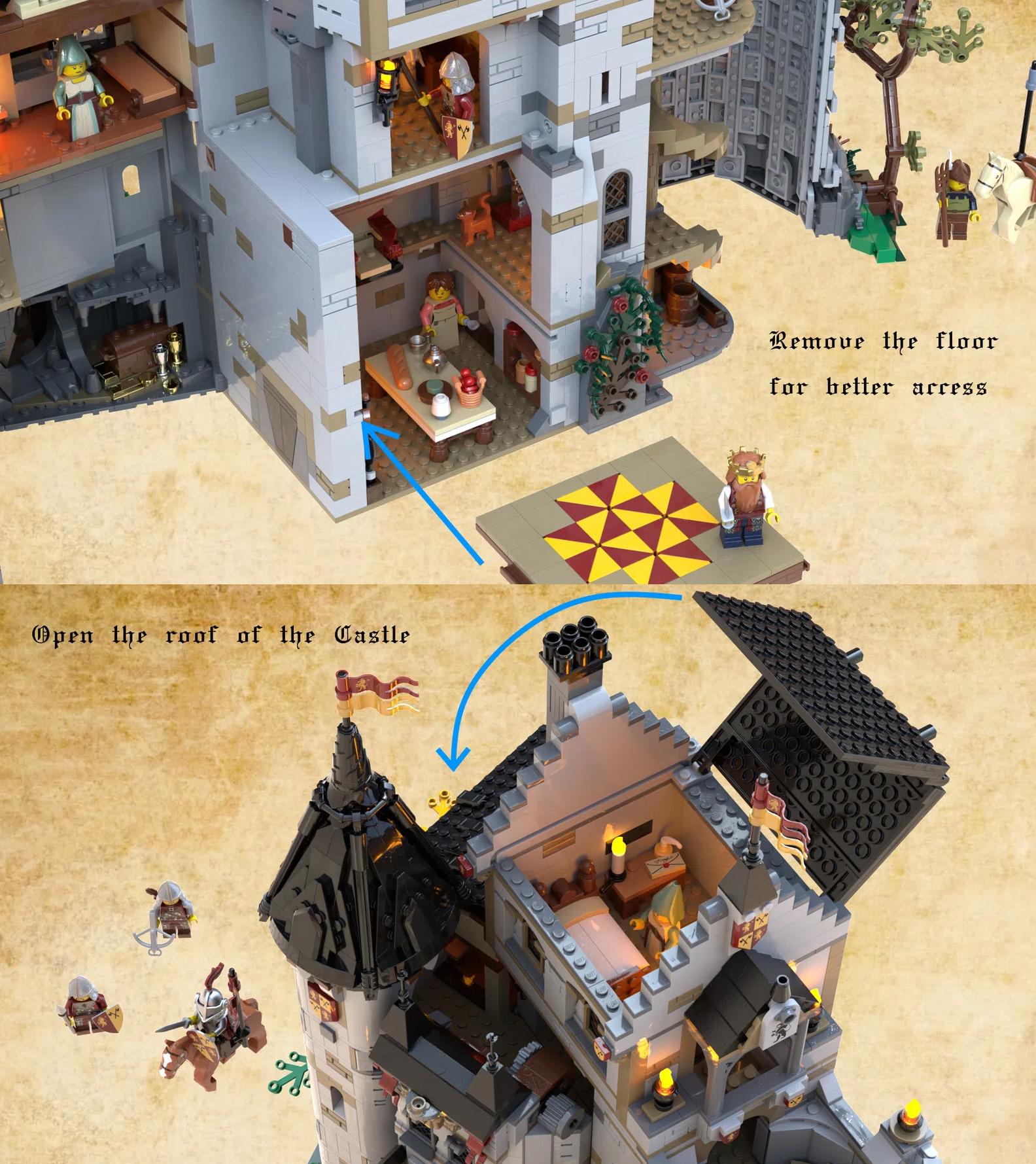 レゴアイデアで『ブリックウッドの森の城』が製品化レビュー進出!2021年第1回1万サポート獲得デザイン紹介