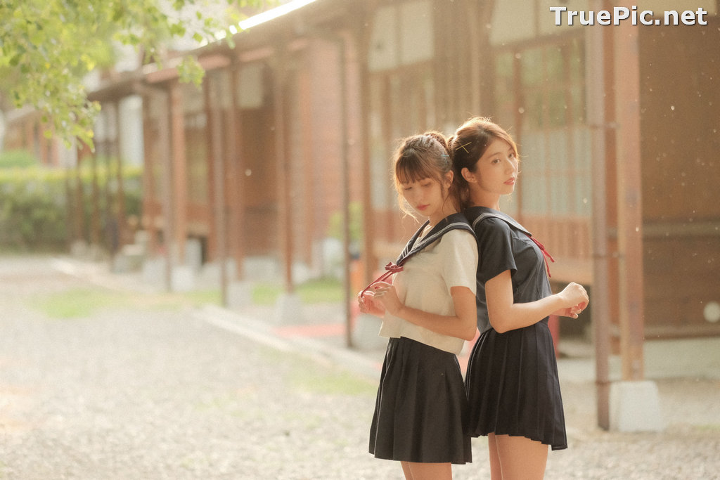 Image Taiwanese Model - 龍龍 &岱倫 - Beautiful Twin Angels - TruePic.net - Picture-9