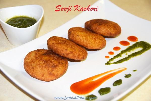Sooji Kachori Recipe