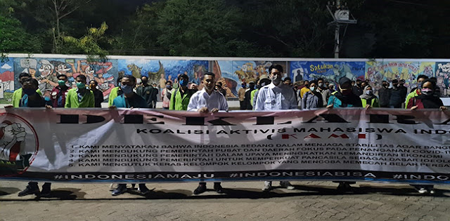 Terapkan Protokol Kesehatan, KAMI Jawa Tengah Deklarasi Di Semarang
