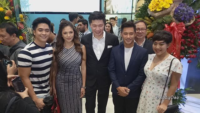 celebrity at GAOC SM Megamall Branch Grand Opening