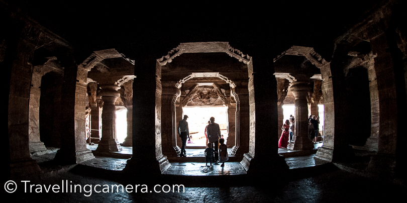 Aihole in this region is a store of temples & heritage. Aihole has plenty of temples and ruins spread over the town and that makes it very special. It's also advisable to accompany a guide who can share about Aihole it's history and how it transformed over a period of time.   During this post we also promised about sharing some of the most stunning ceilings we saw in Badami region. So make sure you look up when you are visiting these places in Badami.