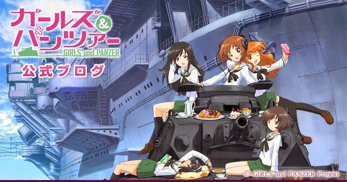 Cover Anime Girl und Panzer
