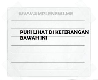 puisi mengenai lingkungan www.simplenews.me