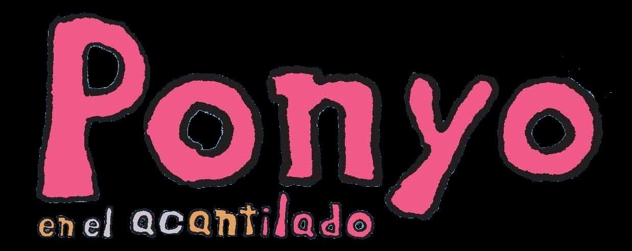 Render Logo Ponyo En El Acantilado